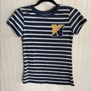 Naval Academy striped T